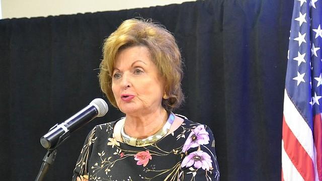 FUNDADORA. La presidenta emérita y fundadora de este centro educativo, Sonia Gutiérrez, dijo que sus sueños se han cumplido.