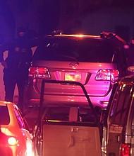 DETENCIÓN. El parlamentario estaba en su vehículo en las cercanías de la sede del partido político Acción Democrática, del cual es parte y allí fue abordado por los funcionarios.
