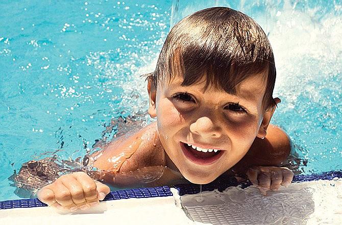 Aprenda a nadar en cuatro lecciones