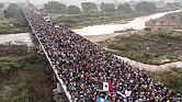 OLA. En los últimos meses, varias caravanas de migrantes han cruzado México. La mayoría de los migrantes provienen de Centroamérica, especialmente de Honduras.