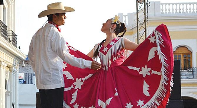Festival hispano de mayo.