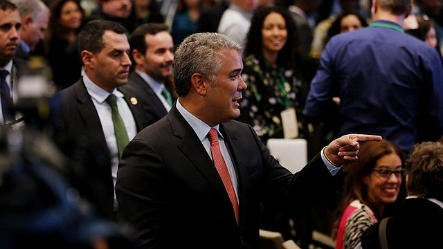 POLÍTICA. El presidente de Colombia, Iván Duque en la Cuarta Reunión Anual Global de Tropical Forest Alliance