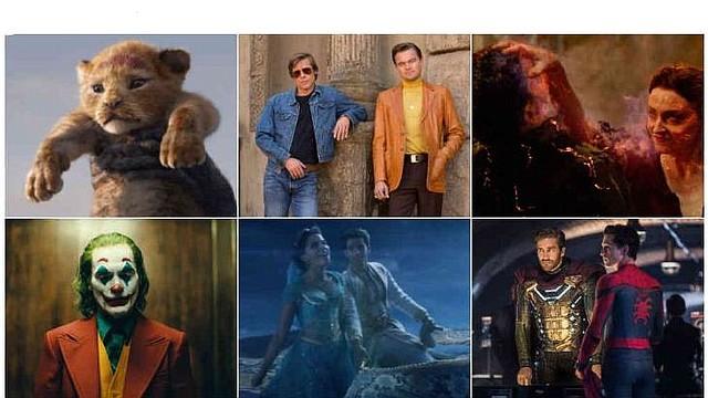CINE. El rey león, lo nuevo de tarantino, X-Men, Spiderman, El guasón y Aladdin