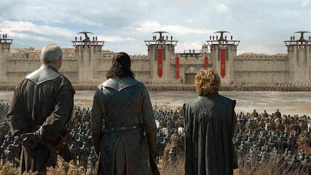 JUEGO DE TRONOS - Ser Davos, Jon Snow y Tyrion peparan el ataque sobre Desembarco del Rey