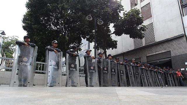 SECUESTRO. El presidente encargado de Venezuela y de la Asamblea Nacional, Juan Guaidó, rechazó la acción y aseguró que desde el parlamento, seguirán trabajando en la reconstrucción del país.
