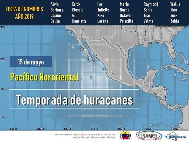 Huracanes del Pacífico Nororiental en 2019