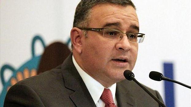 """SEGURIDAD. El director de la Policía Nacional Civil (PNC), Howard Cotto, dijo a periodistas que la Cancillería costarricense """"comunicó oficialmente"""" sobre la presentación de la solicitud al Supremo de ese país."""