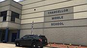 ESCUELA. La Chancellor Middle School en Spotsylvania, Virginia.