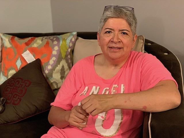 PACIENTE. Gabriela Martínez ha participado en varios estudios clínicos de los NIH.