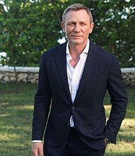 SHOW. Actor Daniel Craig
