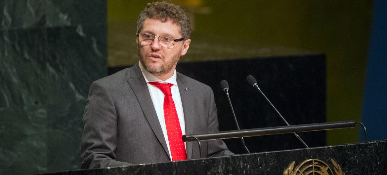 JUSTICIA. Fabián Salvioli, el Relator Especial de la ONU sobre la promoción de la verdad, la justicia, la reparación y las garantías de no repetición.