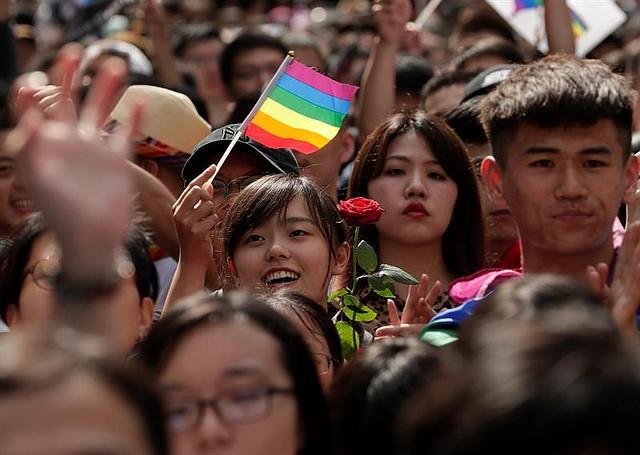 MUNDO. El Parlamento de Taiwán aprobó la legalización del matrimonio entre personas del mismo sexo.