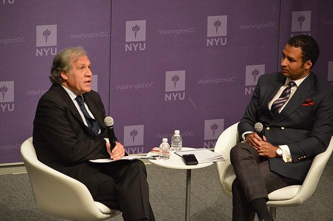 FORO. Foto en la que aparece el secretario general de la OEA, Luis Almagro.