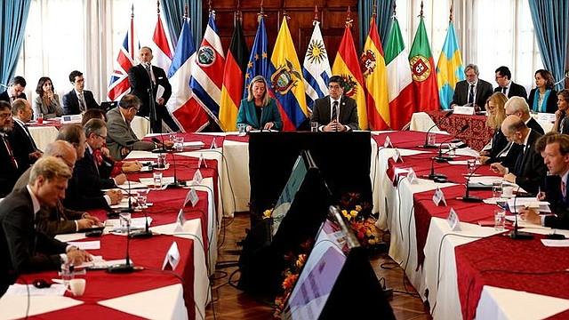 INTERNACIONALES. Foto de archivo del Grupo Internacional de Contacto para Venezuela.