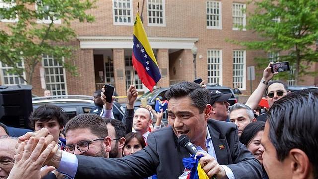 ENCUENTRO. Esta reunión se da en en medio de una respuesta a la salida del régimen de Nicolás Maduro, desconocido como Presidente por más de 50 países.
