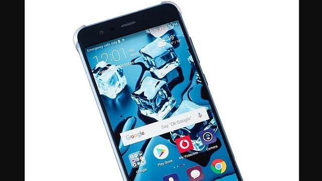 TECNOLOGÍA. Foto de archivo de un móvil de la marca china Huawei.