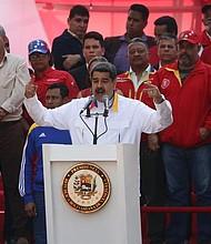 VENEZUELA. Nicolás Maduro participa en un acto de gobierno en Caracas