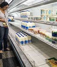 CRISIS. Esta situación se vive en un país donde se registra hiperinflación desde hace dos años según datos de la Asamblea Nacional