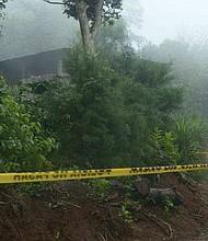 MUERTE. La zona en la que fueron asesinados los hermanos Flores Fuentes es dominada por miembros de la pandilla 18, según dijeron agentes de la Policía.