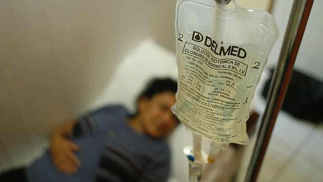 SALUD. Foto de un paciente en un centro médico.