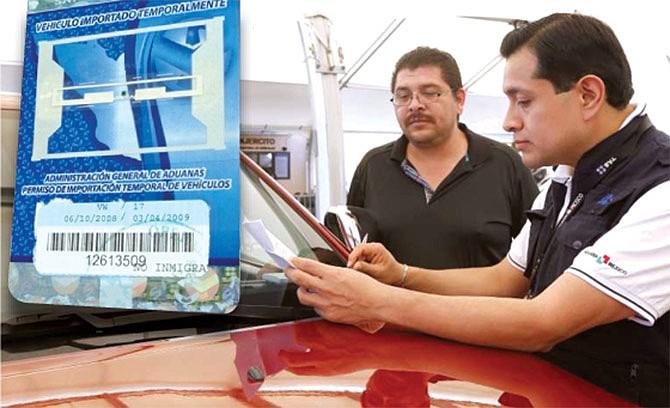 EN EL CONSULADO MEXICANO: Cancele su permiso de importación temporal de vehículos