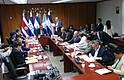 """POLÍTICA. Los embajadores de la Unión Europea y sus Estados miembros en El Salvador expresaron en un comunicado """"su profunda preocupación sobre algunas de las disposiciones del proyecto, que suponen la suspensión de facto de las responsabilidades civiles y penales en los procesos tramitados al amparo de esta Ley""""."""
