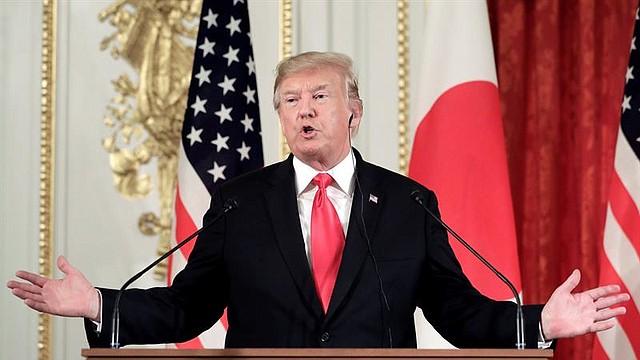 POLÍTICA. Trump conmemoró el Memorial Day desde Japón