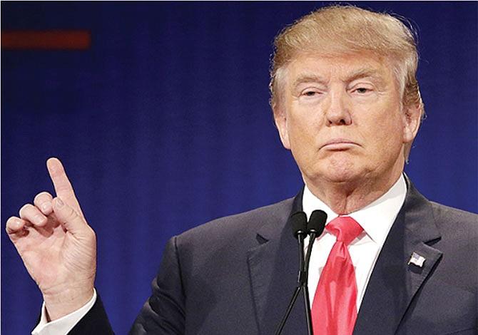Republicanos se enfrentan a Trump
