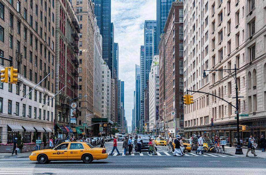 NACIONAL. Imagen de referencia de una vía en Nueva York.