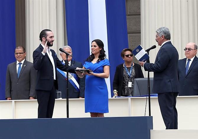 Un millenial en la presidencia de El Salvador