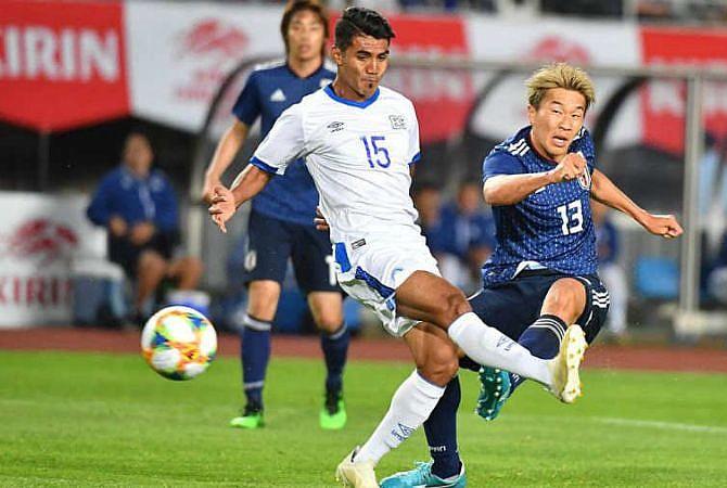 El Salvador pierde su racha invicta ante la veloz Japón