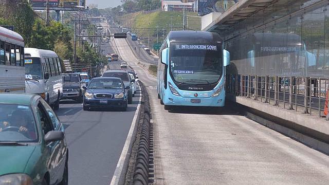 EL SALVADOR. Estaciones del Sistema Integrado de Transporte del Área Metropolitana de San Salvador
