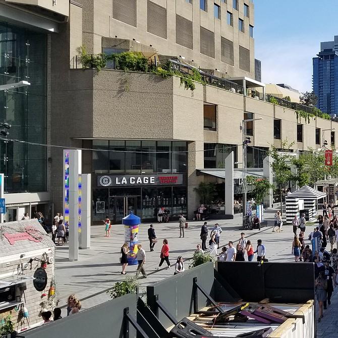 Escenario del Festival Internacional de Jazz de Montreal