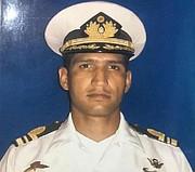 SUCESO. Foto de Rafael Acosta Arévalo, capitán de corbeta de la Armada, fallecido bajo custodia del régimen de Maduro.