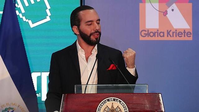 EL SALVADOR. El presidente de El Salvador, Nayib Bukele
