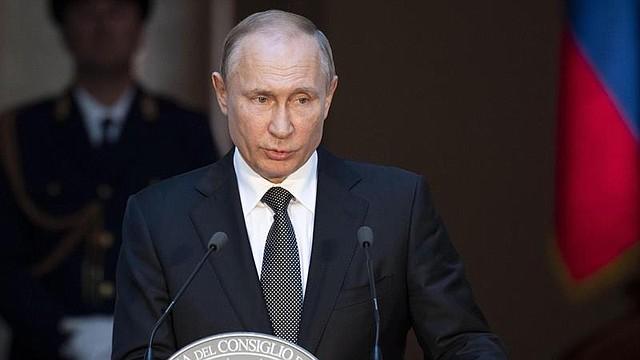 POLÍTICA. Presidente de Rusia, Vladimir Putin