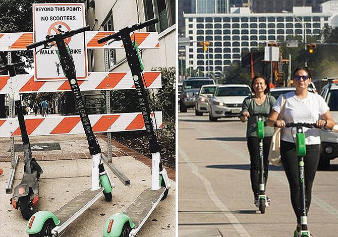 EN TODO EL PAIS: Aumentan los accidentes en patinetas eléctricas