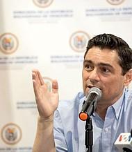 LIBERTAD. Vecchio expresó que frente a esta realidad y en honor a las víctimas del régimen, los presos, perseguidos y exiliados políticos, todos los ciudadanos que siguen firmes en lucha contra la dictadura, necesitan liberar a Venezuela y garantizar que América Latina sea un continente libre, con libertad y dignidad para todos.