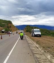 SEGURIDAD. En menos de dos meses han aparecido cuatro cuerpos desmembrados en los pasos irregulares entre Colombia y Venezuela. | Por: Twitter @Policiacucuta