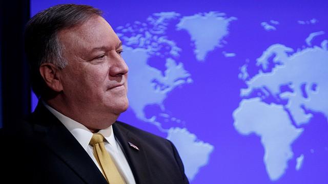 POLÍTICA. Foto de Mike Pompeo, secretario de Estado de Estados Unidos. | Foto Efe