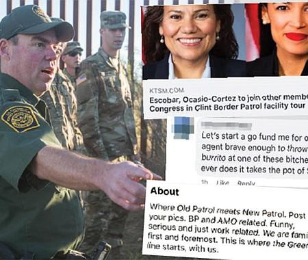 VERGONZOSO. Aunque la jefa de la Patrulla Fronteriza, Carla Provost, criticó los comentarios racistas, vulgares y discriminatorios publicados por sus subordinados en un grupo secreto de Facebook, ella también habría participado, según una denuncia del portal The Intercept.