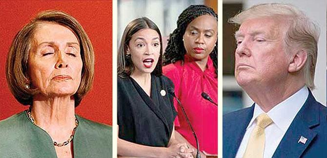 Pugna Demócrata favorece al presidente