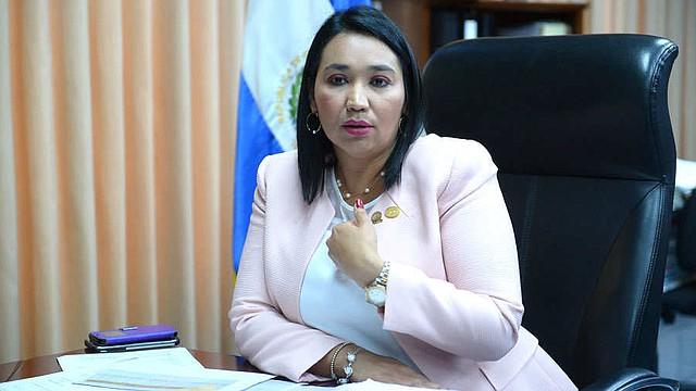 POLÍTICA. La presidenta de la Corte de Cuentas de la República (CCR), Carmen Elena Rivas, reveló la auditoría ordenada por Bukele. Foto EDH/Archivo