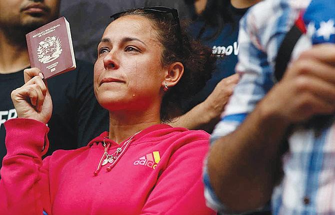 Rechazan TPS para venezolanos