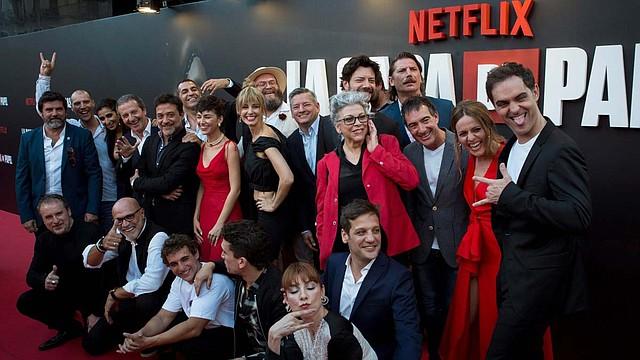 ACTUACIÓN. Esta serie, que comenzó en la cadena española Antena 3 y posteriormente fue adquirida por Netflix, se ha convertido en un fenómeno mundial de la televisión.