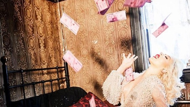 SHOW. Cantante de pop, Christina Aguilera
