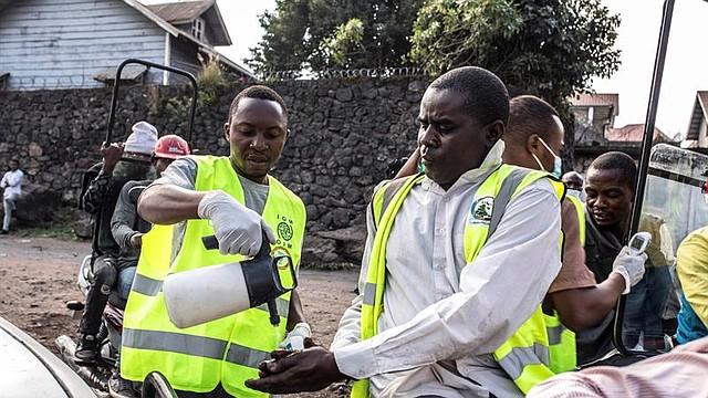 MUNDO. La ciudad de Goma, principal nudo comercial y económico de la región congoleña de Kivu del Norte en la que viven más de un millón de personas, cuenta con numerosos puntos de control sanitarios en la lucha contra el ébola