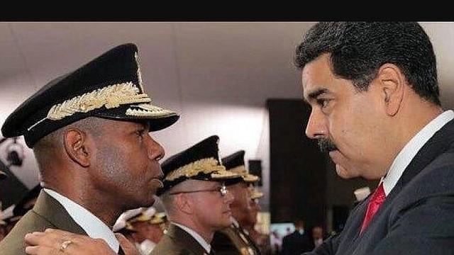VENEZUELA. Manuel Cristopher Figuera, exjefe del Servicio Bolivariano de Inteligencia Nacional junto con Nicolás Maduro. | Foto archivo.