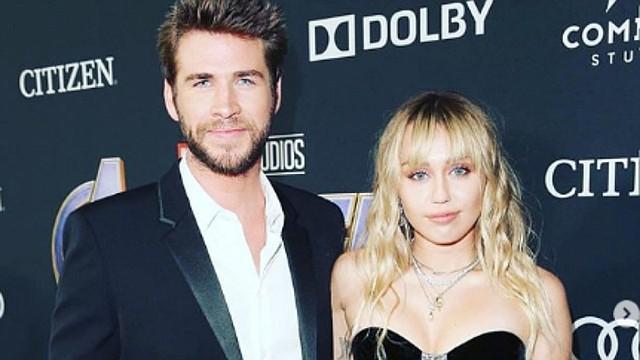 SHOW. Liam Hemsworth y Miley Cyrus anuncian su separación