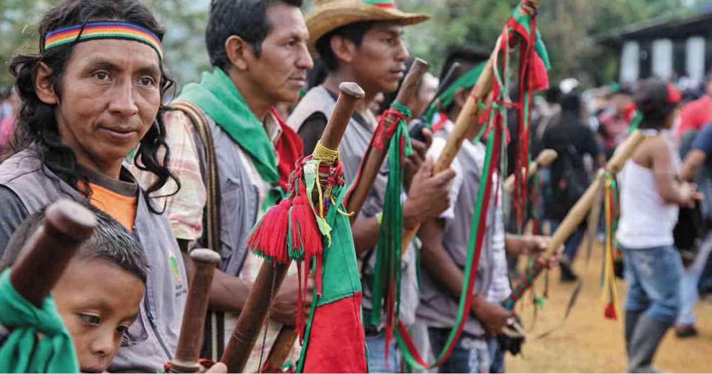 COLOMBIA. El hecho criminal más reciente sucedió el pasado sábado cuando una comitiva de la Guardia Indígena se dirigía hacia Toribío